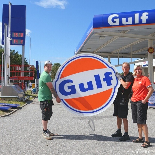 2/7-2014 Dax att byta till Gulf. Foto: Marcus Bertilsson